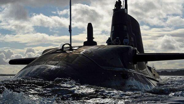 Britská atomová ponorka Ambush. Ilustrační foto - Sputnik Česká republika