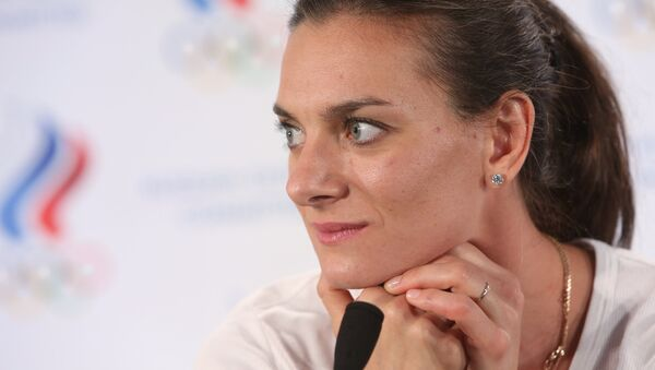 Yelena Isinbayeva - Sputnik Česká republika