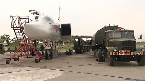 Útok dálkového letectva na objekty teroristů v Sýrii - Sputnik Česká republika