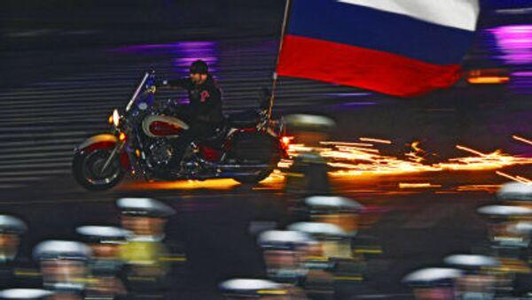 Všeruský motorkářský klub Noční vlci - Sputnik Česká republika