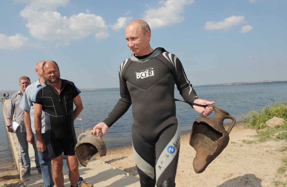 15 let Vladimira Putina