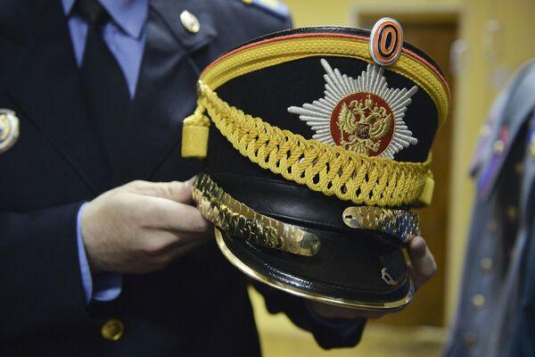 Vojenská čáka – pokrývka hlavy slavnostní uniformy vojáka Prezidentského pluku - Sputnik Česká republika