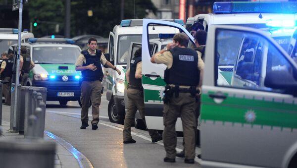 Střelba v Mnichově - Sputnik Česká republika