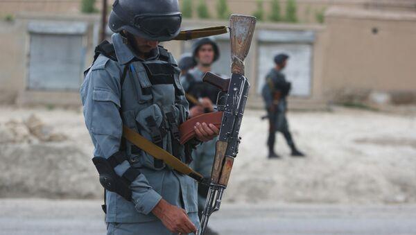 Afghan security forces - Sputnik Česká republika