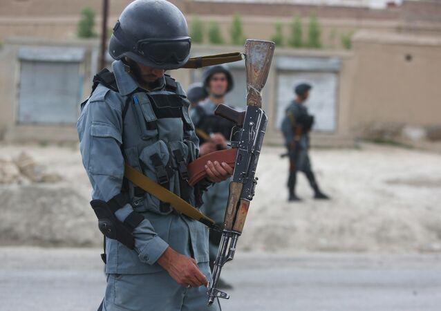 Afghánští policisté