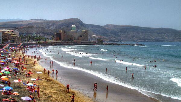 Pláž ve Španělsku - Sputnik Česká republika