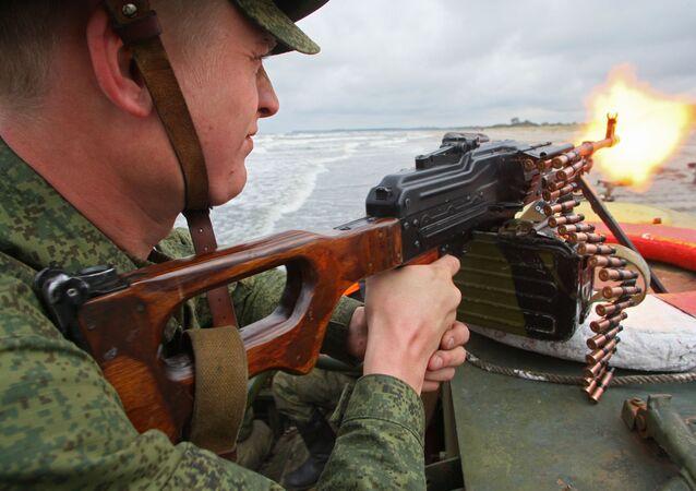 Cvičení Baltské flotily