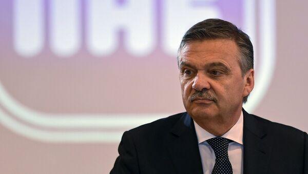 Člen výkonného výboru MOV René Fasel - Sputnik Česká republika