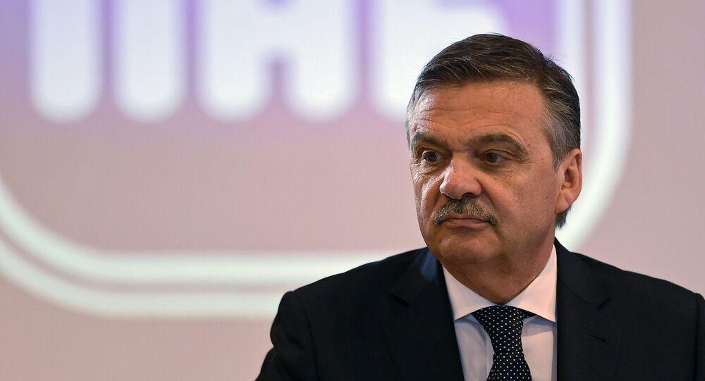 Člen výkonného výboru MOV René Fasel