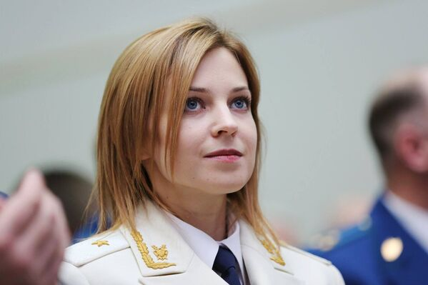 Natalja Poklonskja, ženská i přísná - Sputnik Česká republika
