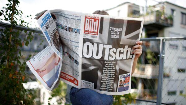 Německé noviny Bild - Sputnik Česká republika