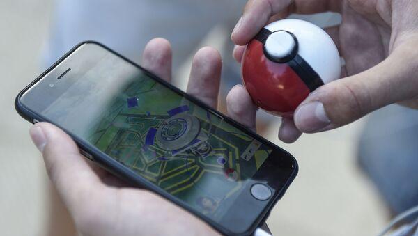 Aplikace Pokemon Go - Sputnik Česká republika