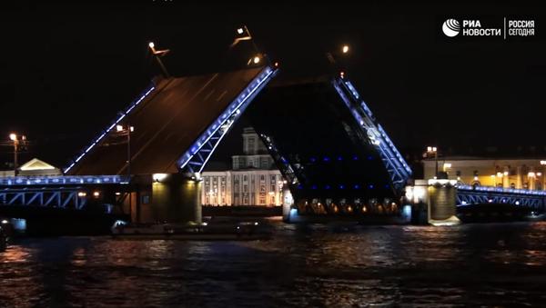 Palácový most v Petrohradě - Sputnik Česká republika