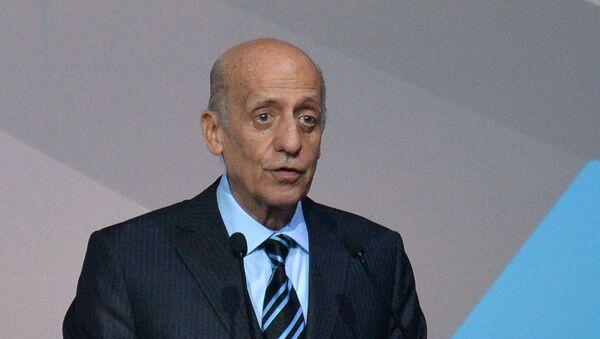 Prezident Mezinárodní plavecké federace (FINA) Julio Maglione - Sputnik Česká republika