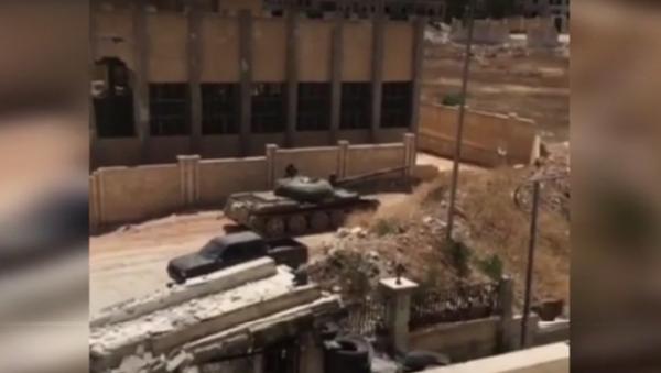 Syrská armáda zaútočila na sídlo skupiny Fronta an-Nusra v Aleppu - Sputnik Česká republika