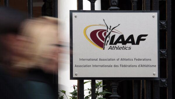 Logo IAAF - Sputnik Česká republika