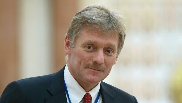 Kremelský tiskový mluvčí Dmitrij Peskov - Sputnik Česká republika