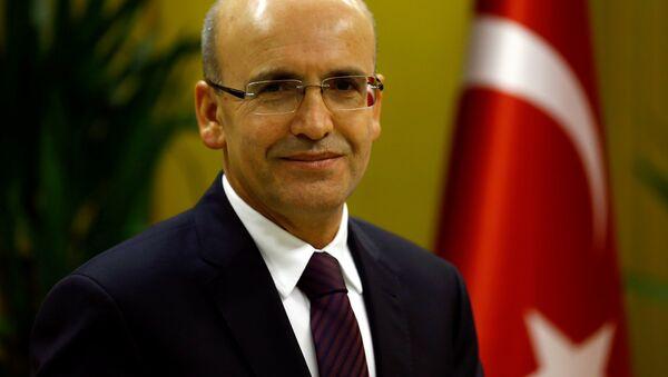 Turecký vicepremiér Mehmet Šimšek - Sputnik Česká republika