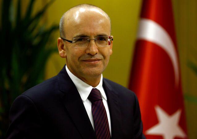 Turecký vicepremiér Mehmet Šimšek