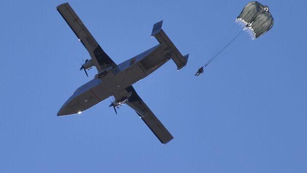 Vojenské letadlo Sherpa С-23B+ - Sputnik Česká republika