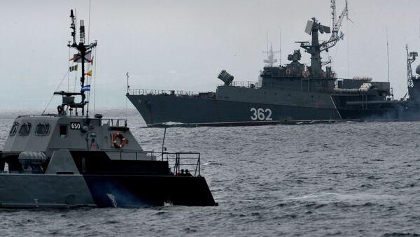 Lodě Tichomořské flotily - Sputnik Česká republika