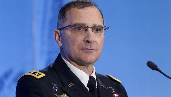 Hlavní velitel sil NATO v Evropě generál Curtis Scaparotti - Sputnik Česká republika