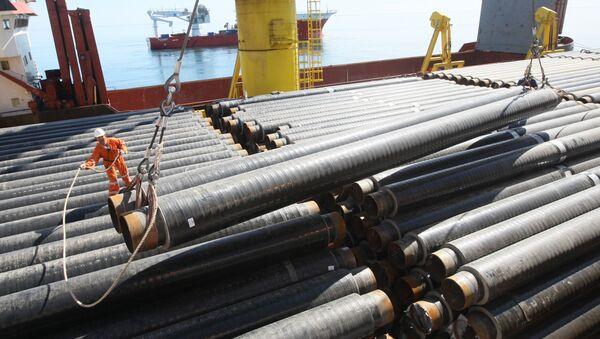 Stavba plynovodu v Černém moři - Sputnik Česká republika