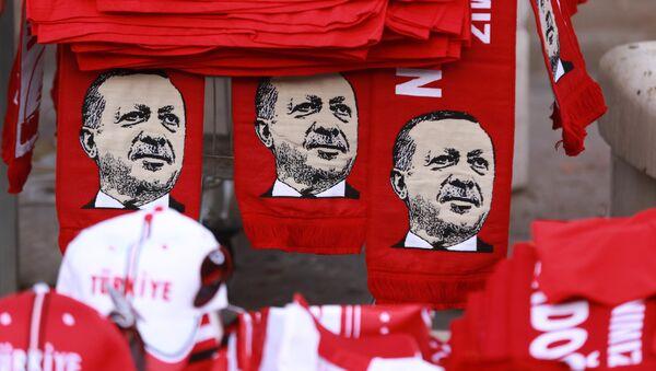 Šály s Erdoganem, Ankara - Sputnik Česká republika