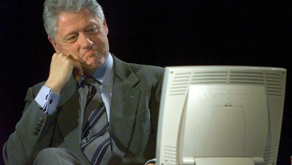 Bývalý americký prezident Bill Clinton - Sputnik Česká republika