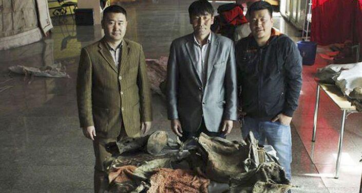 Mongolští archeologové