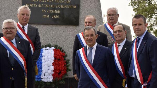 Francouzští poslanci na Krymu - Sputnik Česká republika