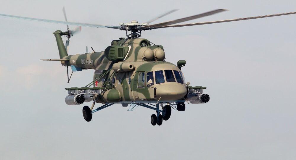 Vrtulník Mi-8. Ilustrační foto