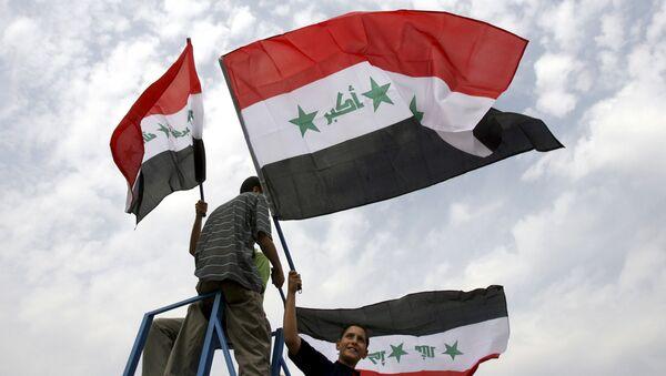 Vlajka Iráku - Sputnik Česká republika