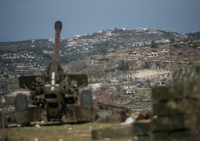 Syrská armáda v provincii Idlib