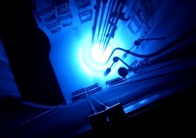 Bylo natočeno video jaderného výbuchu v reaktoru
