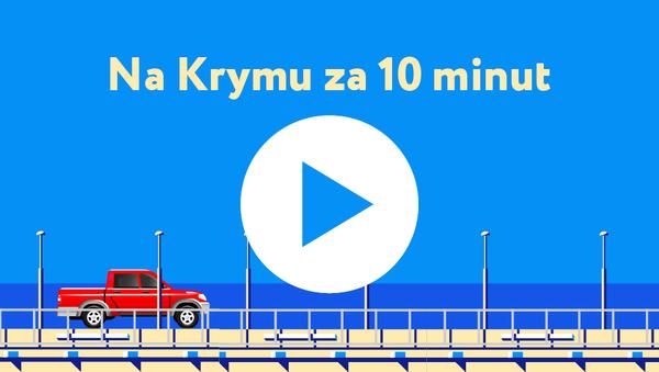 Na Krymu za deset minut - Sputnik Česká republika