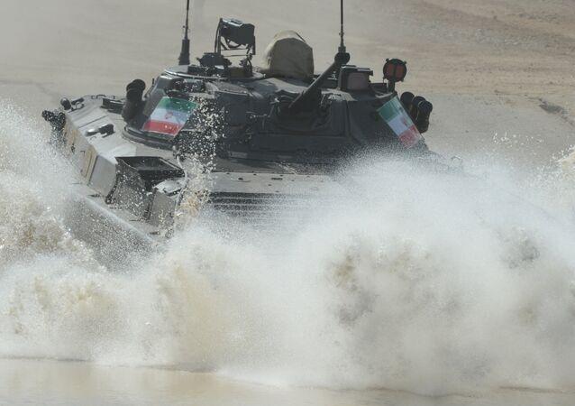 Íránská reprezentace na Mezinárodních armádních hrách