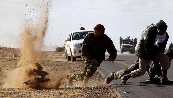 Bombardování v Libyi - Sputnik Česká republika