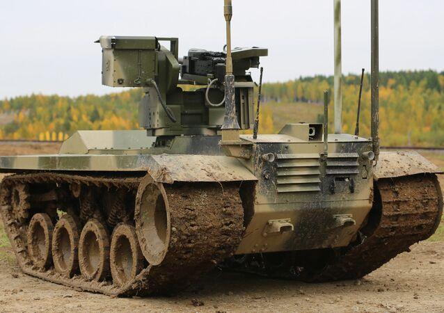 Bojový robot Něrechta-2
