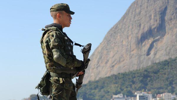 Brazilská policie - Sputnik Česká republika