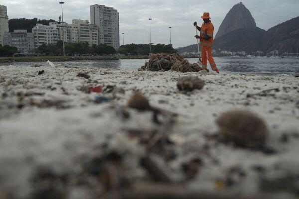 Ekologická situace v Riu de Janeiro před OH - Sputnik Česká republika