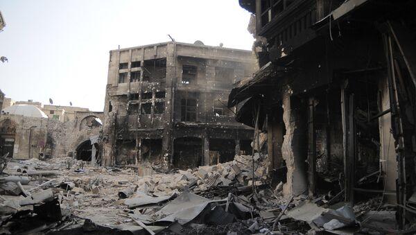 Situace v Aleppu (ilustrační foto) - Sputnik Česká republika