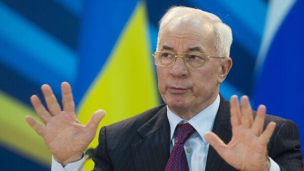 Vojenská prokuratura Ukrajiny předvolala k výslechu expremiéra Azarova - Sputnik Česká republika