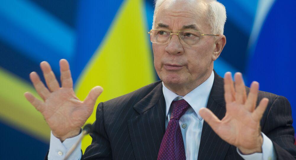 Vojenská prokuratura Ukrajiny předvolala k výslechu expremiéra Azarova.