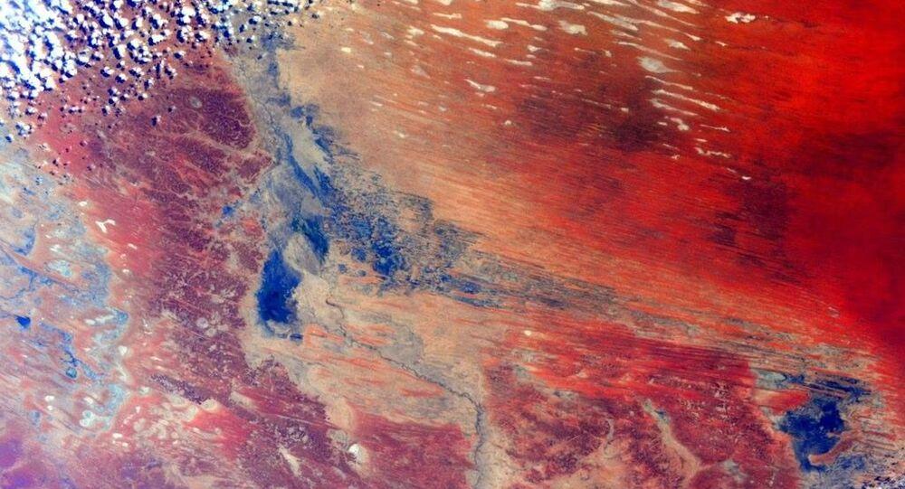 Pohled na Austrálii z kosmu