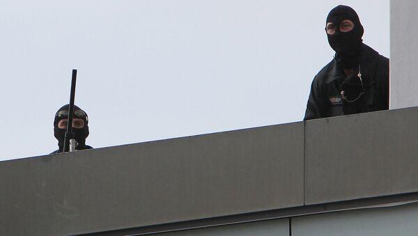Policie v Saarbrückenu - Sputnik Česká republika