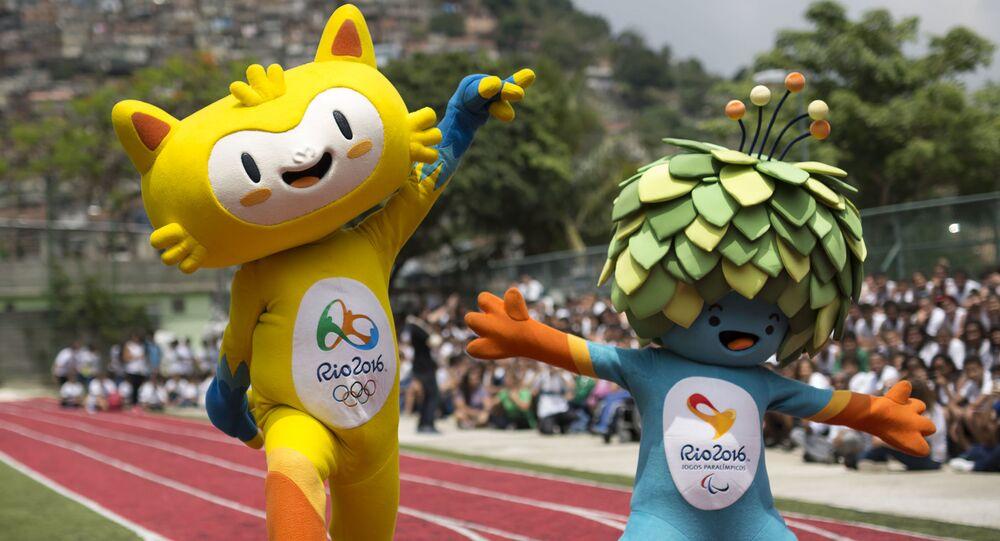 Maskoty Olympijských a Paralympijských her v Riu
