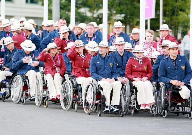 Ruští paralympionici v Londýně