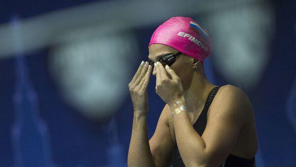 Ruská plavkyně Julie Jefimovová - Sputnik Česká republika