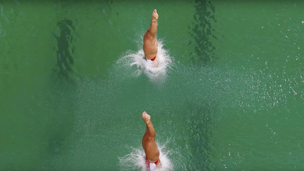 V olympijském bazénu v Riu zezelenala voda - Sputnik Česká republika